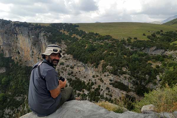 Alberto Marín. Guía de Senderos Ordesa
